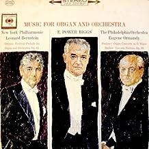 Music For Organ And Orchestra: Festival Prelude For Organ And Orchestra Op. 61 / Organ Concerto In G Minor / Toccata Festi...