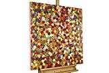 Kunstloft® Cuadro en acrílico 'Brotes de Primavera' 80x80cm | Original Pintura XXL...