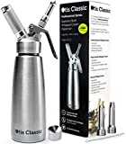 Whipped Cream Dispenser Stainless Steel - Professional Whipped Cream...
