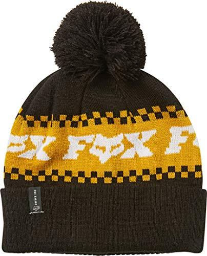 Fox Overkill Beanie Black/Yellow, einheitsgröße