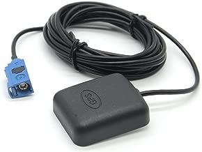 GPS Antenna Fakra C Blue Female Connector for VW Audi MFD2 RNS2 MFD3 RNS510 Sat Nav