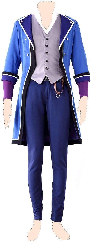 Felices compras K cosJugar costume costume costume Fushimi Saruhiko Ver.1 K SIDE_azul uniform XX-Large  increíbles descuentos