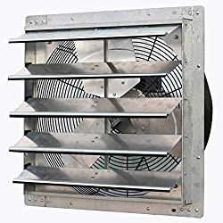 Premium Pick for Best Garage Exhaust Fan: iLiving 20-inch Wall Mounted Exhaust Fan w/ Automatic Shutter