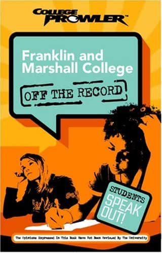 Franklin And Marshall College  College Prowler Off The Record