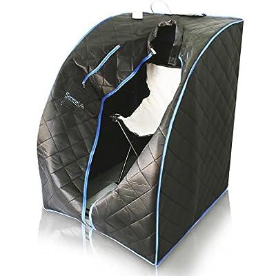 SereneLife AZSLISAU10BK Portable Infrared Sauna