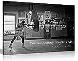 Kunstdruck auf Leinwand, Motiv Muhammad Ali Champion