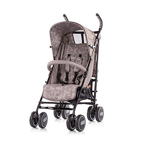 Chipolino LKIR01702AT Kinderwagen Iris Buggy Rückenlehne einstellbar Getränkehalter braun
