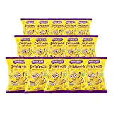 Smileat - Bolsas de Smilitos, Snack Ecológico de Maíz para Meriendas de Bebés a Partir de los 6 Meses - Pack de 15x38g - 570g