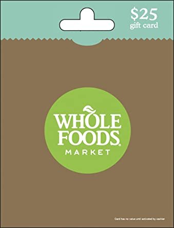Whole Foods Market 25 Gift Card Gift Cards