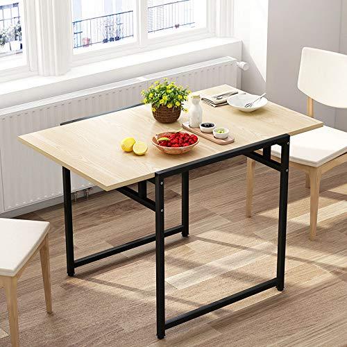 no brand FYTVHVB Table Pliante Extérieure Petit Appartement Maison Salon Table À Manger Bureau D'étude Meubles Ménagers