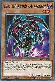 Yu-Gi-Oh! - Evil Hero Infernal Prodigy - LED5-EN019 - Common - 1st Edition - Legendary Duelists: Immortal Destiny