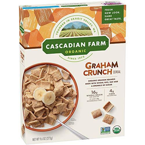 Cascadian Farm Organic Graham Crunch Cereal 96 oz Box