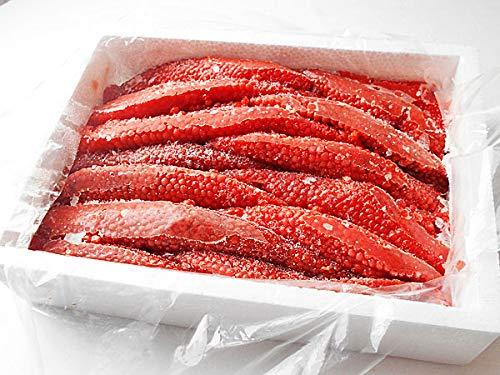 紅鮭すじこ(醤油漬・業務用筋子)1kg【出荷元:北海道四季工房】
