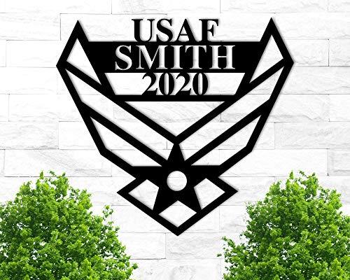 Custom Air Force Metal Sign