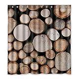 Dalliy Brauch holz Wasserdicht Polyester Shower Curtain Duschvorhang 167cm x 183cm