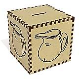Azeeda Groß 'Milchkanne' Sparbüchse / Spardose (MB00051256)