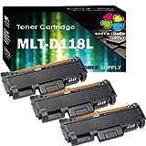 Green Toner Supply Compatible MLTD118L D118L MLT-D118LBlack Toner Cartridge 118L Black 3 Pack