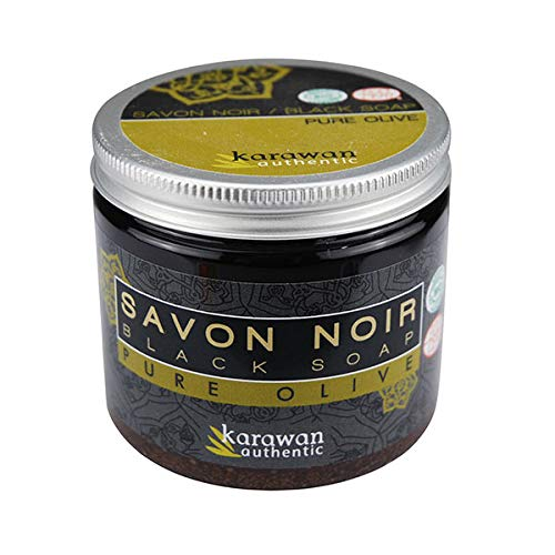 Karawan - Savon Noir Nature 100% Pure Olive - Lot De 2 - Vendu Par Lot