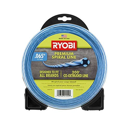 Ryobi AC04146 0.065 in. x 200 ft. Premium Spiral Cordless and Gas Trimmer Line