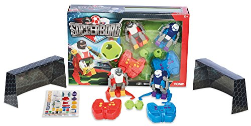 TOMY Soccerborg Radio Controlled RC Robot Football Game - Suitable From 6 years