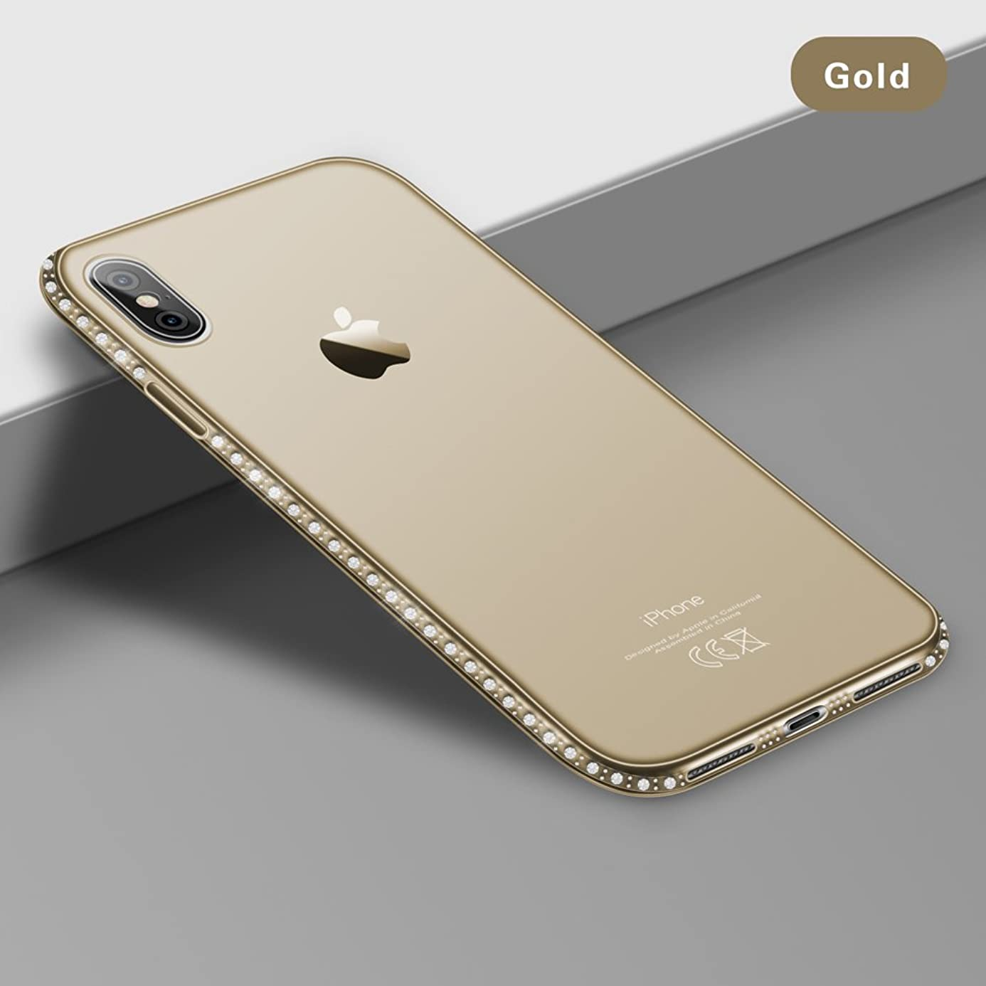 Fitted Cases - Diamond Bling Transparent Phone Case Cover For Iphone 6 6s 8 7 Plus Soft Tpu Clear Cover For Iphone X Xr Xs Max 5 5s - For Iphone 5 5s Se Gold - Tv Running Blackview Silver
