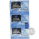Set 12Farn Seife X 3Klassische hellblau Pflege und Reinigung des Körpers