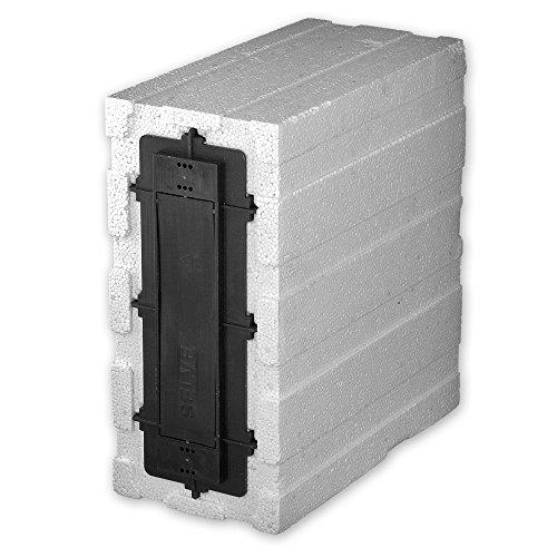 Rolladen Mauerkasten Gurtkasten wärmegedämmt, Lochabstand: 160 und 186 mm, Gurtaufnahme: ca. 5,3 m, Putzschutz, von EVEROXX