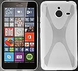 tomaxx Microsoft Lumia 640 XL Hülle x-TPU Tasche Schutzhülle transparent