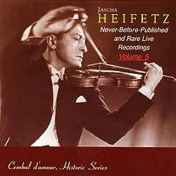 Jascha Heifetz Vol.5 [Import]