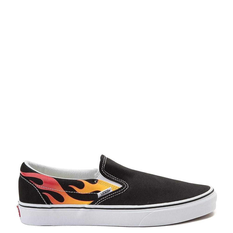[バンズ] 靴?シューズ スニーカー Slip On Flames Skate Shoe [並行輸入品]