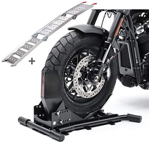 Set Motorradwippe Constands Easy Vario + Auffahrrampe Alu III SW4