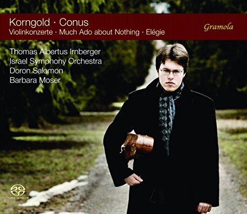 Korngold & Conus: Violin Concertos