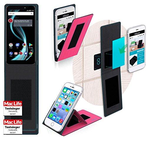 reboon Hülle für Allview X4 Soul Infinity Plus Tasche Cover Case Bumper   Pink   Testsieger