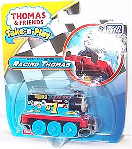 Thomas and friends take n play edizione speciale racing thomas motore pressofuso metallo giocattolo modello