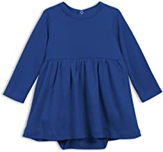 Primary Baby Long Sleeve All Cotton Dress