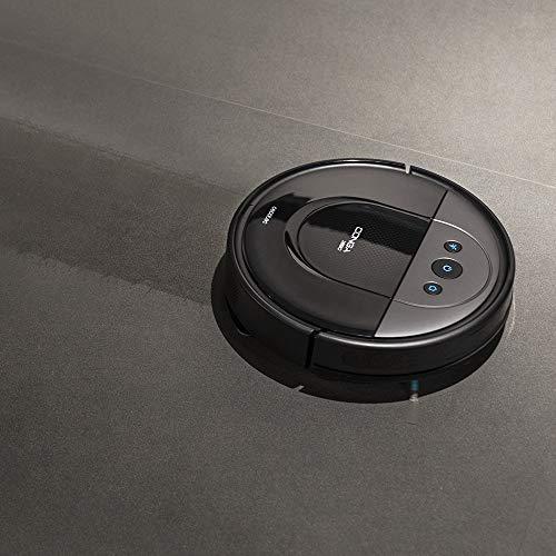 Cecotec Robot Aspirador Conga 1890. Tecnología iTech SmartGyro Eye, Cepillo Jalisco, Sensor óptico, 2700 Pa, App con Mapa, Limpieza ordenada, Cepillo Mascotas, Alexa & Google Assistant