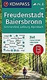 KOMPASS Wanderkarte Freudenstadt, Baiersbronn, Simmersfeld, Loßburg, Alpirsbach: 3in1 Wanderkarte 1:25000 mit Aktiv Guide inklusive Karte zur offline ... Langlaufen. (KOMPASS-Wanderkarten, Band 878)