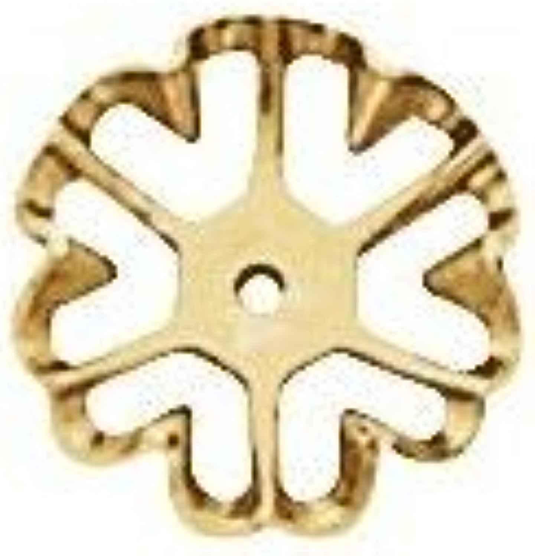 14k Yellow Gold 6.6 mm ID Earring Jackets Fine Jewelry for Women
