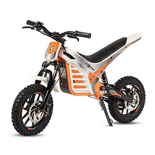 ECOXTREM Moto Cross eléctrica Infantil, Color Naranja.
