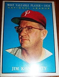1961 Jim Konstanty #479 NL MVP 1950 Baseball Card