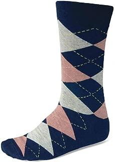 TieMart Men's Argyle Socks