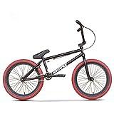 LUO Bicicleta, bicicleta para niños y adultos, niños y ciclistas de nivel principiante a avanzado, ruedas de 20 pulgadas, marco de acero Hi-Ten Crmo, engranaje 25X9T