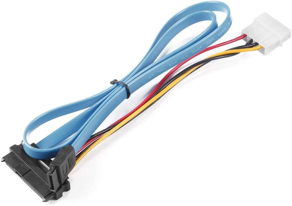 itchoate San Antonio Mall Shipping included 7 Pin SATA Serial ATA SAS to Cable 4 29 Male
