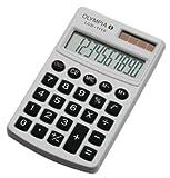 Olympia Taschenrechner LCD - 1110, weiß