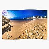 Swedese Long Sunset Beach Australia Perth Exposure Panorama