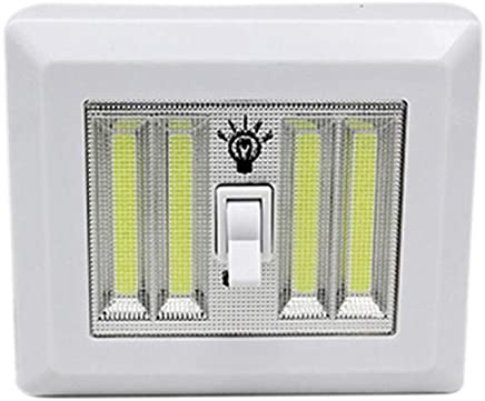 EforLighting COB Switch Wall Lamp LED Cordless Light Battery Operated Kitchen Wireless Wardrobe lamp Cabinet Garage