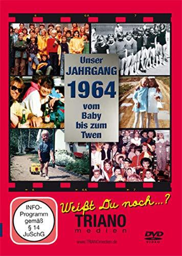Unser Jahrgang 1964-Vom Baby bis zum Twen: zum 57. Geburtstag