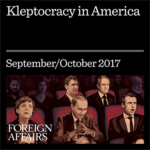 Kleptocracy in America audiobook cover art