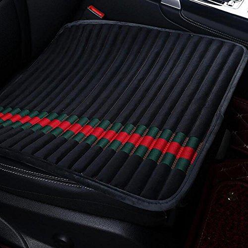 Preisvergleich Produktbild MIAO Auto Sitzbezüge,  General Wong Jing Atmungsaktiv Rutschfeste Einteilige Sitzkissen ,  black