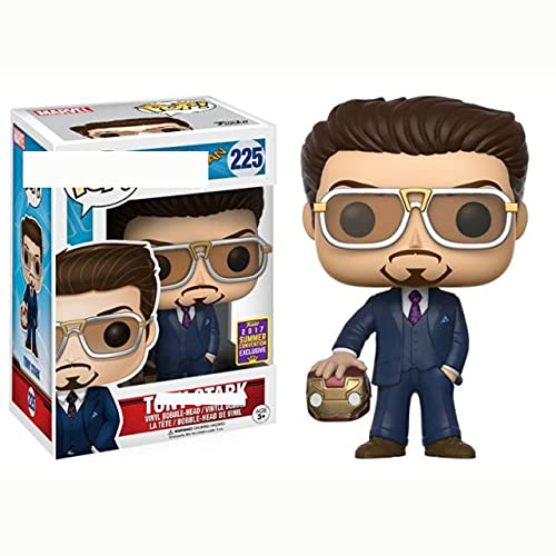 AYBB Pop Return of Spider Man Hero Tony Stark Ornements de décoration de Personnage en édition limitée